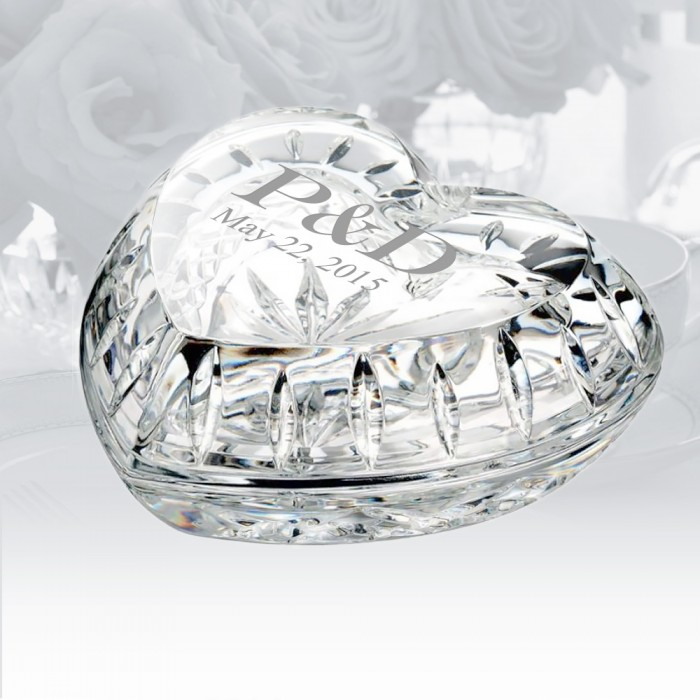 Waterford Giftology Heart Box