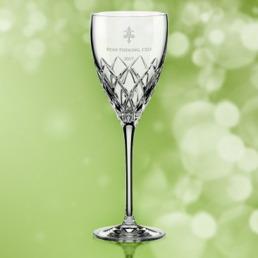 Kate Spade Downing Cuts Avenue Goblet 10oz