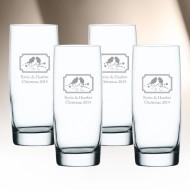 Nachtmann Vivendi Longdrink Cooler Glass 4pc Set, 14.6oz