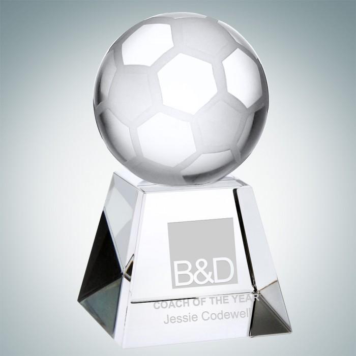 Coach Free Lettering Desktop Series Football Plaque Customized Award MVP